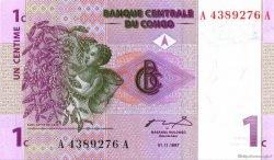 1 Centime CONGO (RÉPUBLIQUE)  1997 P.80a NEUF
