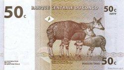 50 Centimes CONGO (RÉPUBLIQUE)  1997 P.84A SPL