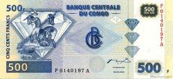 500 Francs CONGO (RÉPUBLIQUE)  2002 P.096 SPL