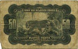 50 Francs CONGO BELGE  1941 P.16a B