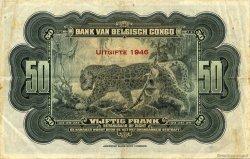 50 Francs CONGO BELGE  1946 P.16d TTB+