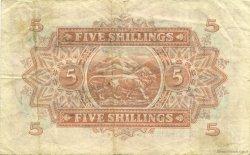 5 Shillings AFRIQUE DE L
