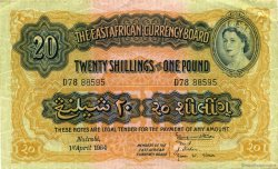 20 Shillings - 1 Pound AFRIQUE DE L