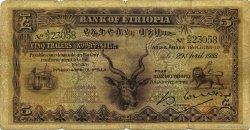 5 Thalers ÉTHIOPIE  1933 P.07 B
