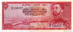 10 Dollars ÉTHIOPIE  1961 P.20a NEUF