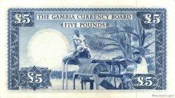 5 Pounds GAMBIE  1965 P.03a SUP à SPL