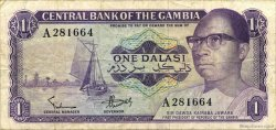 1 Dalasi GAMBIE  1971 P.04a TB+