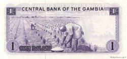 1 Dalasi GAMBIE  1971 P.04a SPL