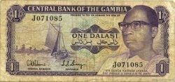1 Dalasi GAMBIE  1971 P.04d TB