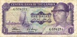1 Dalasi GAMBIE  1971 P.04d TTB