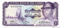 1 Dalasi GAMBIE  1971 P.04d pr.NEUF