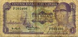 1 Dalasi GAMBIE  1971 P.04f B