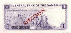 1 Dalasi GAMBIE  1971 P.04s SPL