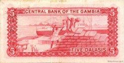 5 Dalasis GAMBIE  1972 P.05a TTB+