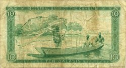 10 Dalasis GAMBIE  1972 P.06c pr.TB