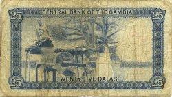 25 Dalasis GAMBIE  1972 P.07b B