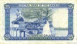25 Dalasis GAMBIE  1987 P.11b TTB