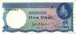 1 Cedi GHANA  1965 P.05a SUP