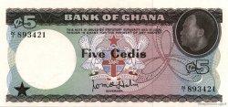 5 Cedis GHANA  1965 P.06a NEUF