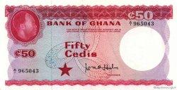 50 Cedis GHANA  1965 P.08a NEUF