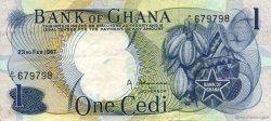1 Cedi GHANA  1967 P.10a pr.SUP