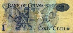 1 Cedi GHANA  1975 P.13b TB
