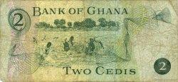 2 Cedis GHANA  1972 P.14b TB