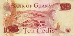10 Cedis GHANA  1978 P.16f SPL+
