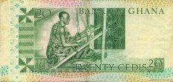 20 Cedis GHANA  1979 P.21a TTB