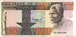 50 Cedis GHANA  1979 P.22a SUP