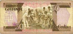 50 Cedis GHANA  1984 P.25 pr.TTB