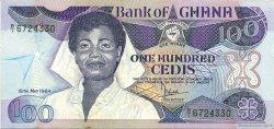 100 Cedis GHANA  1984 P.26a NEUF