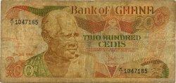 200 Cedis GHANA  1986 P.27a B