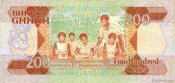 200 Cedis GHANA  1990 P.27b SUP