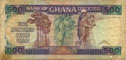 500 Cedis GHANA  1986 P.28a TB+