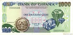 1000 Cedis GHANA  1991 P.29a SUP+
