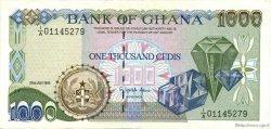 1000 Cedis GHANA  1993 P.29b SUP+