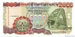 2000 Cedis GHANA  1996 P.33a pr.NEUF