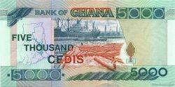 5000 Cedis GHANA  1998 P.34c pr.NEUF
