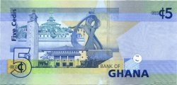 5 Cedis GHANA  2007 P.38a pr.NEUF