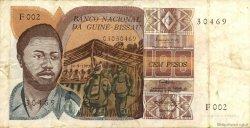 100 Pesos GUINÉE BISSAU  1975 P.02 TTB