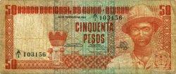 50 Pesos GUINÉE BISSAU  1983 P.05 pr.TB