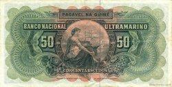 50 Escudos GUINÉE PORTUGAISE  1964 P.040a TTB+