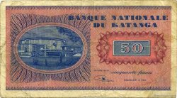 50 Francs KATANGA  1960 P.07a pr.TB