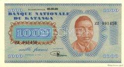 1000 Francs KATANGA  1960 P.10s pr.NEUF