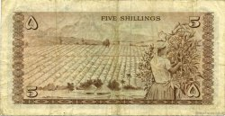 5 Shillings KENYA  1966 P.01a TB