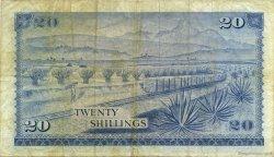 20 Shillings KENYA  1973 P.08d TB+