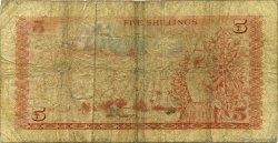 5 Shillings KENYA  1975 P.11b B