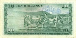 10 Shillings KENYA  1975 P.12a TTB+