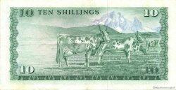 10 Shillings KENYA  1977 P.12c SUP